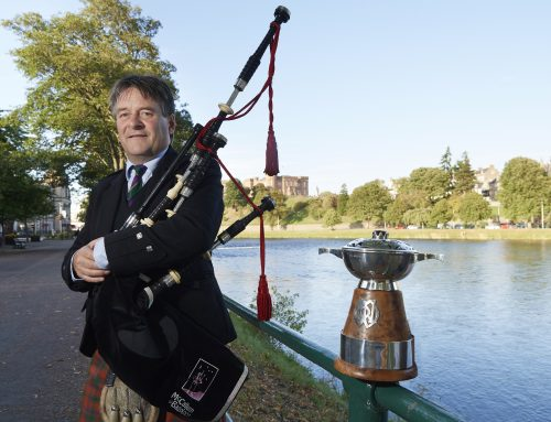 Record entries for premier piping contest
